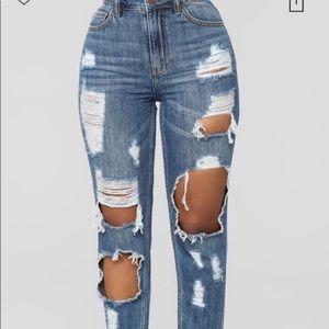 Fashion Nova Janelle Jeans